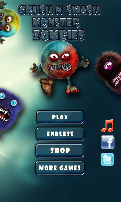 Скриншот Crush N' Smash Monster Zombies