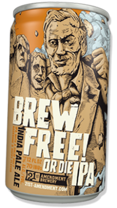 Logo of 21st Amendment Brew Free Or Die