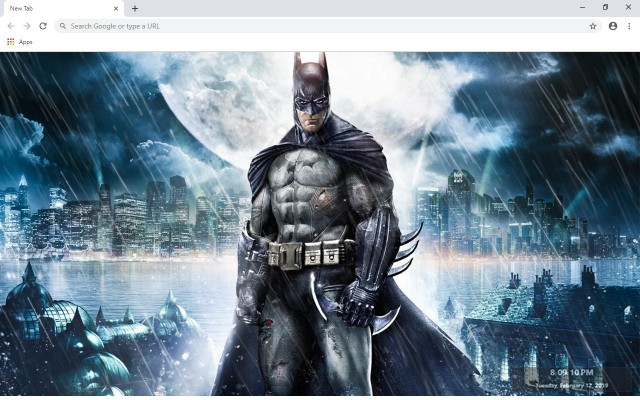 Batman New Tab & Wallpapers Collection