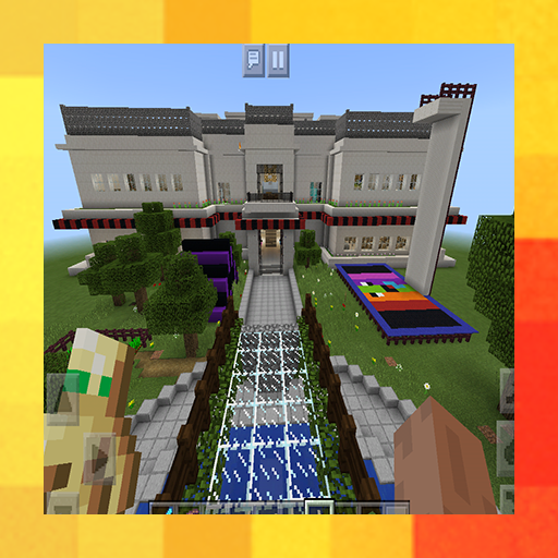 Private School. Map for MCPE