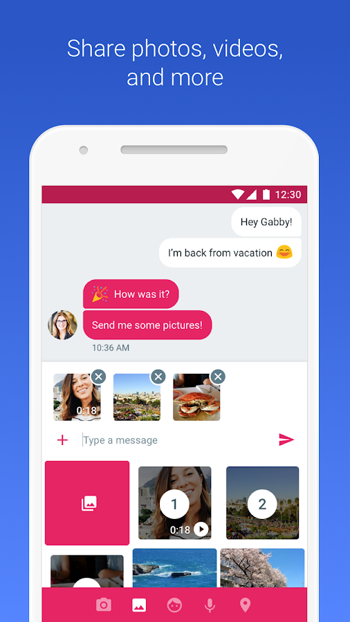 Android Messages- screenshot