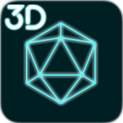 App Icon for 3D Abstract Live Wallpaper App in United States Play Store