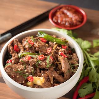 Vietnamese Ginger Beef Stir Fry Recipe