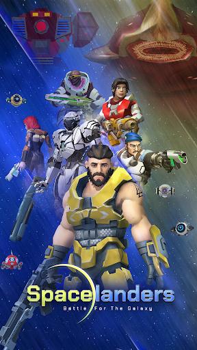 Spacelanders: 3D Sci-Fi Action RPG Shooter apkmartins screenshots 1
