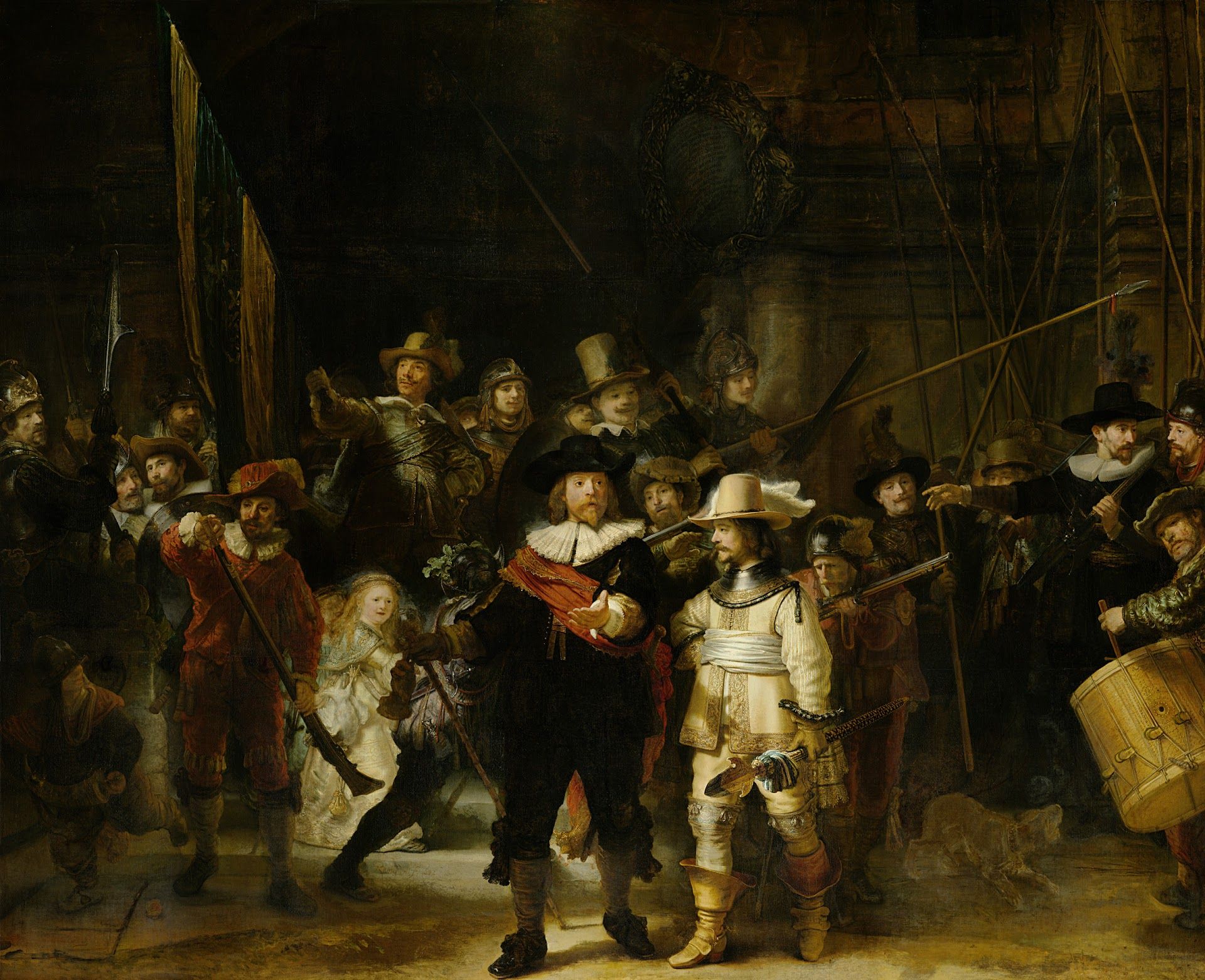 The Night Watch Rembrandt Van Rijn 1642 Rijksmuseum