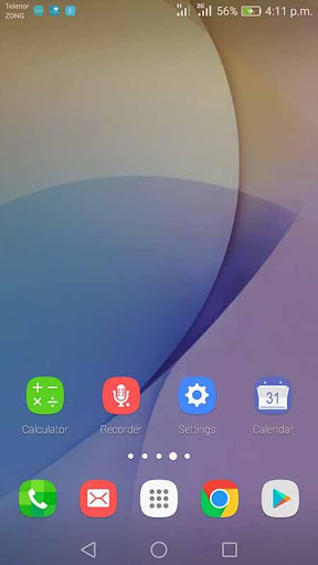 Theme for Galaxy J5 2017 for PC