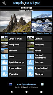 Explore Skye - Visitors Guide Screenshot