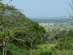 Photo: On the road to Muxima - view on the plain