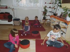 Photo: meditace s kameny - meditation with stones