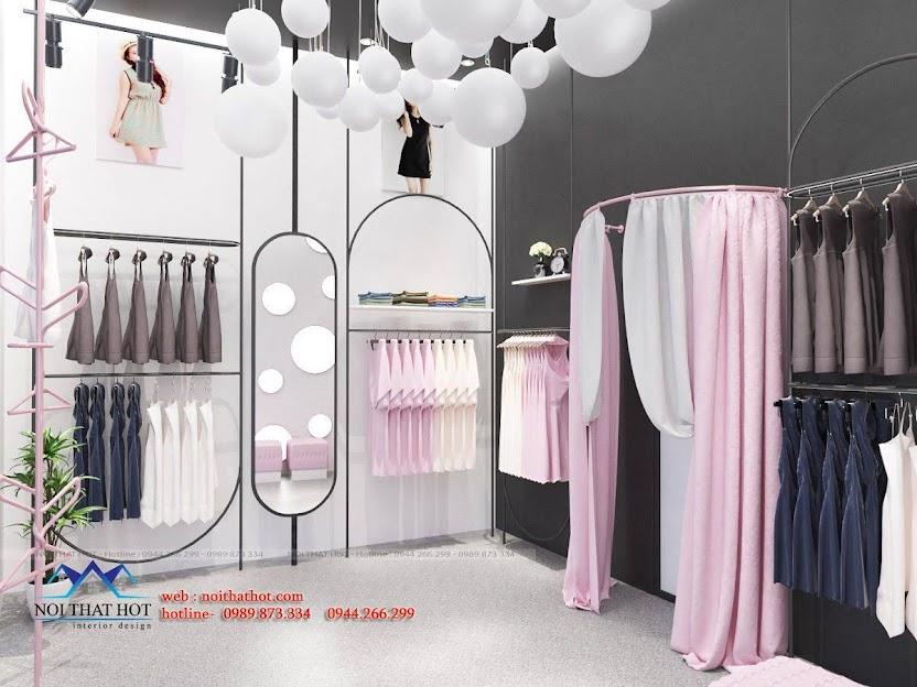 thiết kế shop đồ lót và đồ ngủ nội y 4