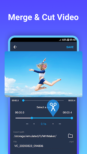 Video maker with photo & music 1.0.2 screenshots 3