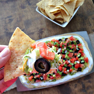 7 Layer Hummus Dip Recipe