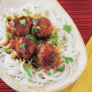 Asian Turkey Meatballs.