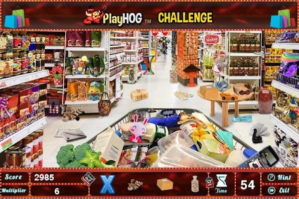 Challenge #74 Super Market New Hidden Object Games - screenshot