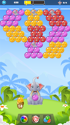 Elephant Baby Rescue: Classic Bubble Shooter 1.0.2 screenshots 4