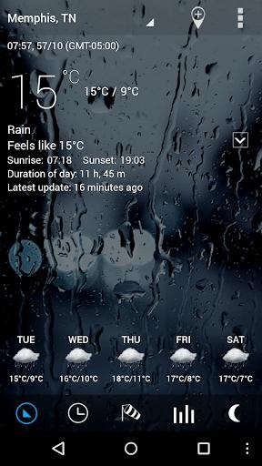 Sense Flip Clock & Weather Pro  screenshots 10
