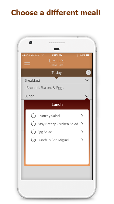 My Paleo Cafe - Easy Diet Plan- screenshot