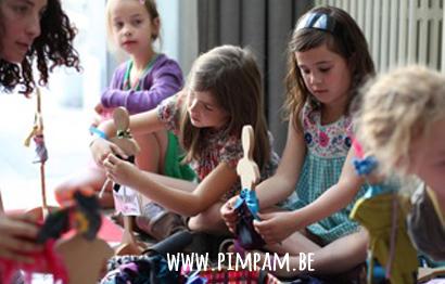 PASPOPJESkoffer - creatief modespel voor kinderfeestjes thuis- vanaf 6j.