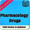 Pharmacology Drugs 1400 Notes, Concepts & Quizzes icon