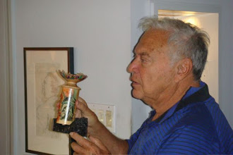 Photo: Arthur Mason with a prized Binh Pho.