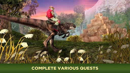 Evolved Dino Rider Island Survival screenshot 2