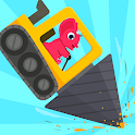 Dinosaur Digger 2 - Truck Games for kids icon