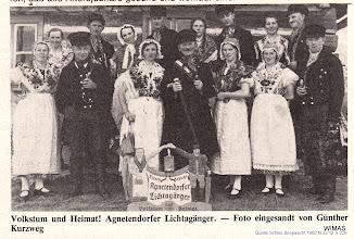 "Photo: Agnetendorf,"" Lichtagänger"""