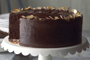 Photo: Best-Ever Chocolate Fudge Layer Cake by Kraft Foods. Find this recipe here: http://kraft.us/JefKas