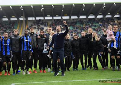 """Spelers Club Brugge wuiven hun coach uit: """"Zit in het hart van fans en bij ons"""" en """"Veel van hem bijgeleerd"""""""