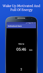 Motivational Alarm Clock - Wake Up Inspired APK screenshot thumbnail 6