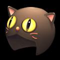 黒猫戦士ニャンニャイン(あたま)