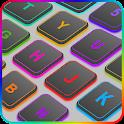 Emoji Keyboard - Colorful Neon icon