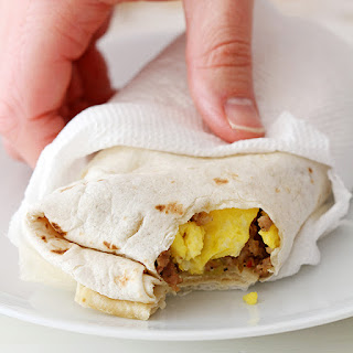 Freezer Breakfast Burritos
