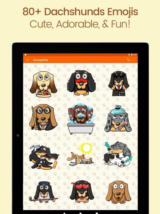 SausageMoji Stickers Android 11