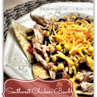 EASY Southwest Chicken in Slow Cooker!