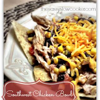 EASY Southwest Chicken in Slow Cooker!.
