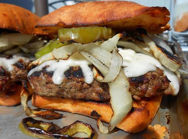 Flame Broiled Burger Recipe