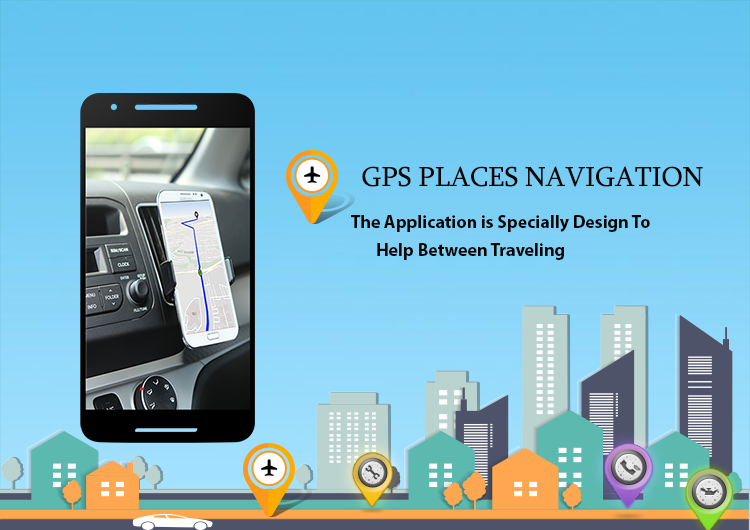GPS Places Navigation- screenshot