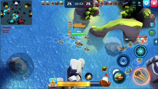 Code Triche Battle Ships - PVP APK MOD screenshots 5