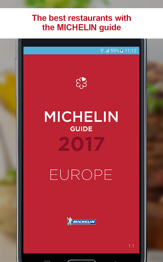 Michelin Guide Europe 2017 – zrzut ekranu