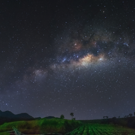 milkyway rising by Martin Marthadinata - Landscapes Starscapes ( milkyway, night, astrophotography, nightsky, astronomy )
