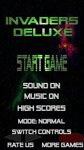 Invaders Deluxe - Retro Arcade Space Shooter FREE ss2