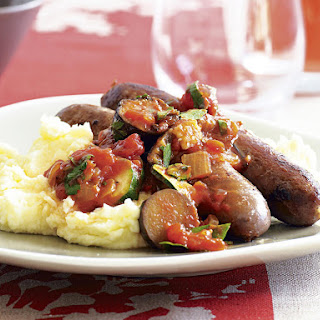Italian Sausages with Chunky Tomato Sauce