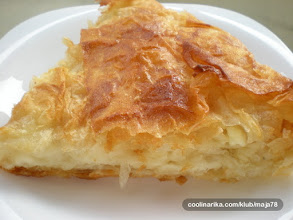 Photo: This is called Burek its a serbian pie here is the link on how to make it http://www.wikihow.com/Make-Burek