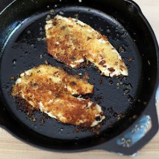 Breaded Pan Fried Tilapia.