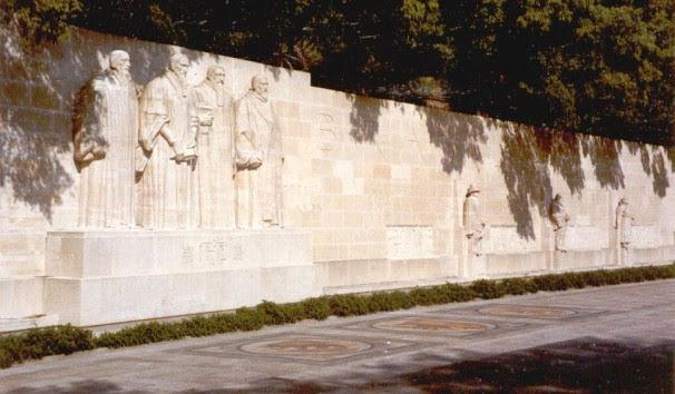 Muro da Reforma Protestante em Genebra