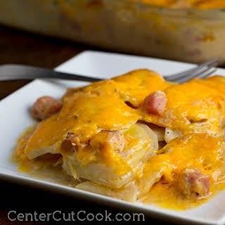 Cheesy Scalloped Potato Casserole.