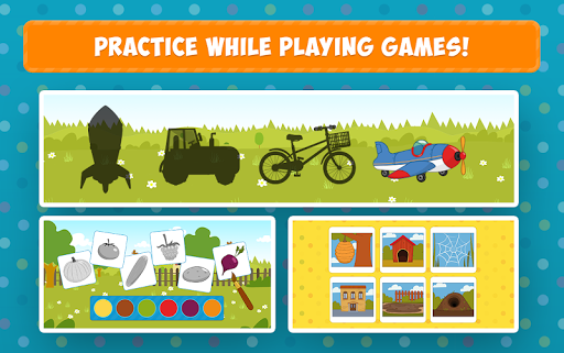Blue Tractor: Learning Games for Toddlers Age 2, 3 1.0 screenshots 14