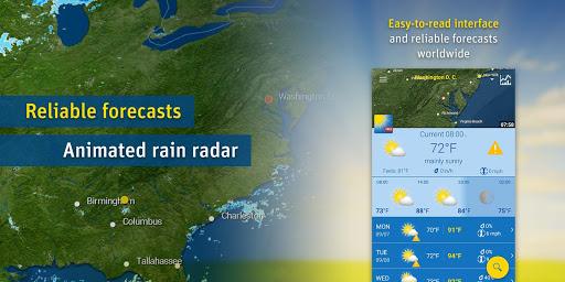 WeatherPro Free screenshot 1