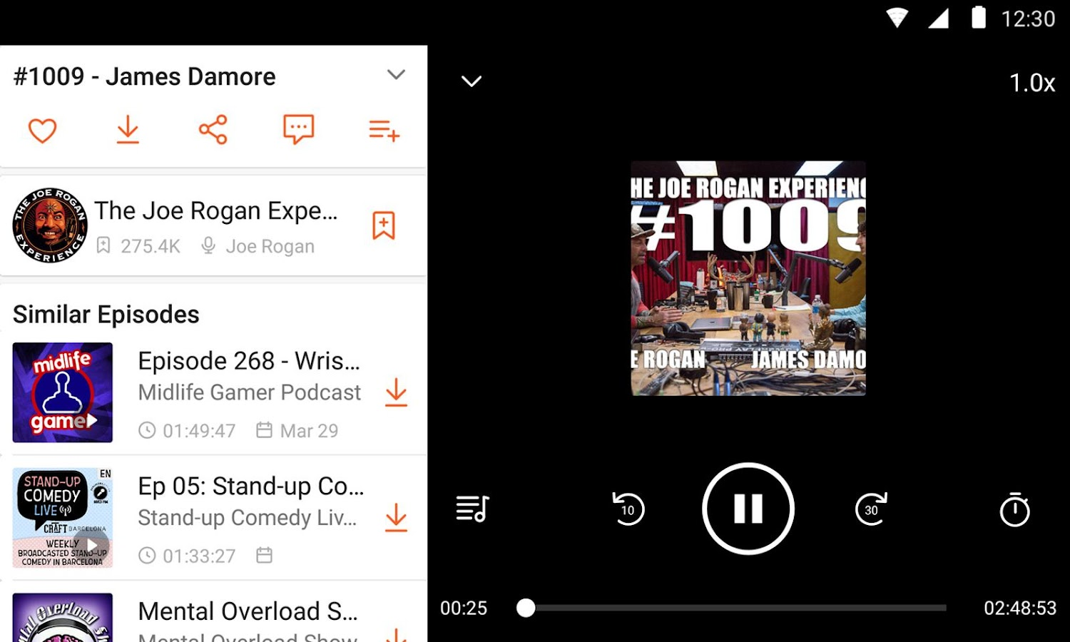 CastBox: Free Podcast Player, Radio & Audio Books – screenshot